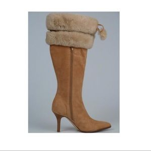 BRAND NEW COLE HAAN MINK BOOTS